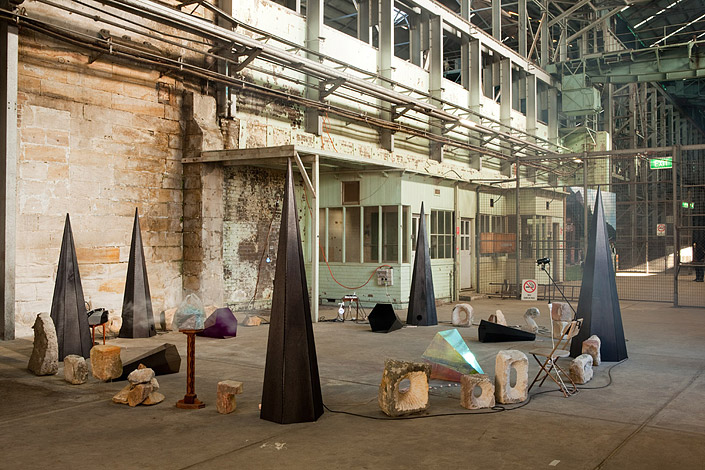 An Apparition of Reduction Installation view 17th Biennale of Sydney 2010