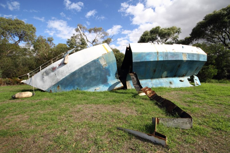 Dead Reckoning 50ft Yatch - McCleland Gallery 2012