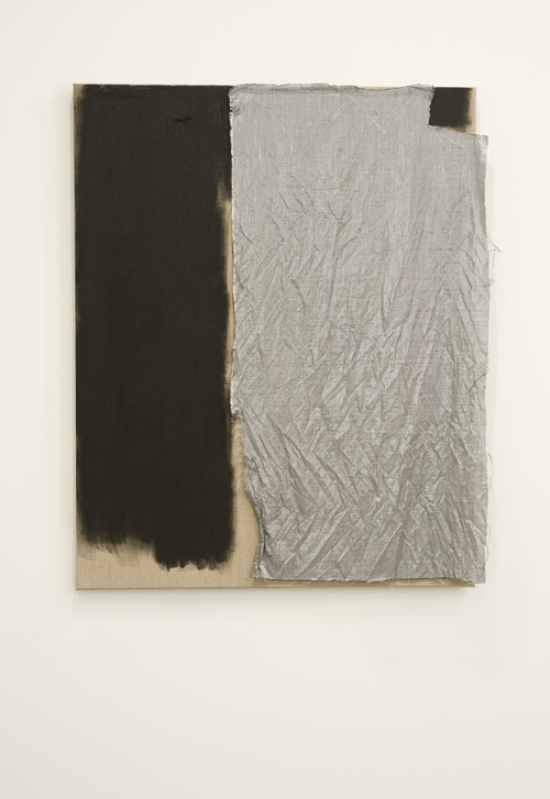Elizabeth Newman, 'Untitled', 2012, oil and fabric on canvas. Photo- John Brash