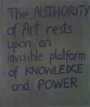 Elizabeth Newman Untitled 1989  Oil on canvas  91 x 76 cm