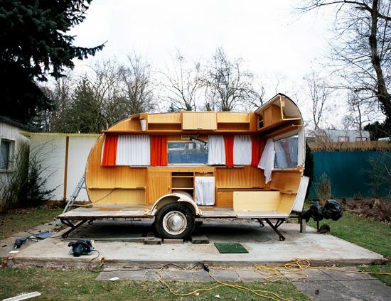 Flatpack, 2006, entire caravan, euro pallets#2