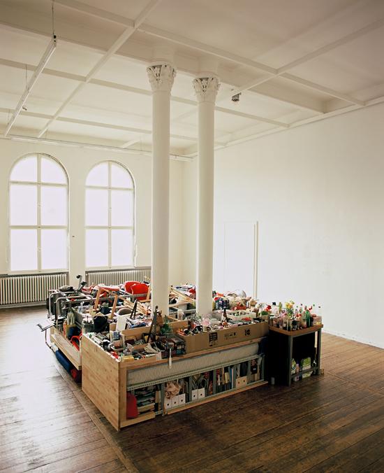 Hoard, 2006, entire studio contents, Künstlerhaus Bethanien