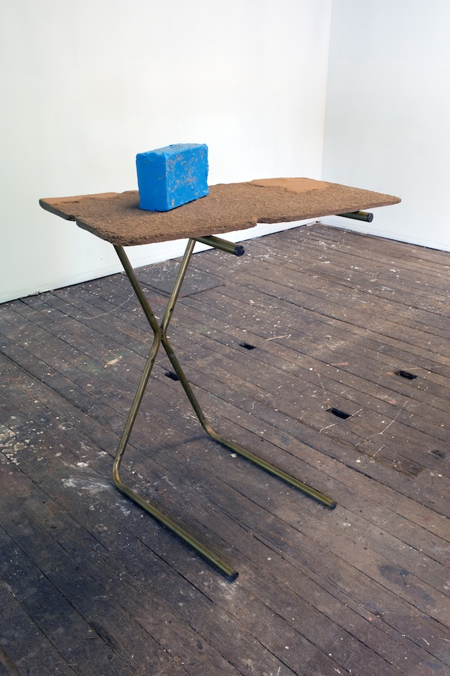 Relative Nobody#2, 2010 cast pigmented polyurethane resin, bronze 114 × 89 × 66cm