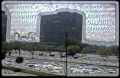tourist #4 may 1967 #4, 2005, lambda prints, 800 mmw x 450 mmh