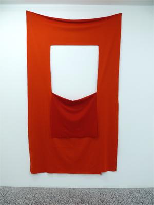 Untitled 2005 Bonded wool 238 x 135 cm