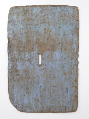 Untitled 2007 Found object 182 x 118 cm (irregular)