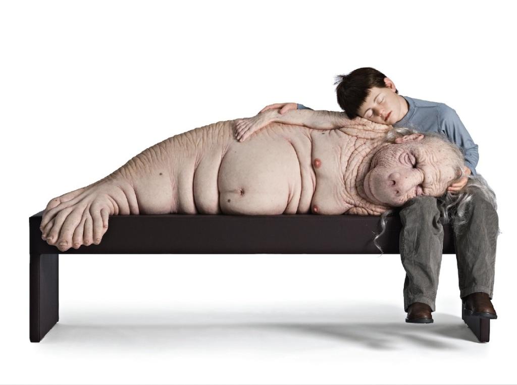 Asleep on bench web