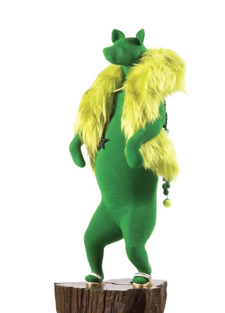 Green bear web