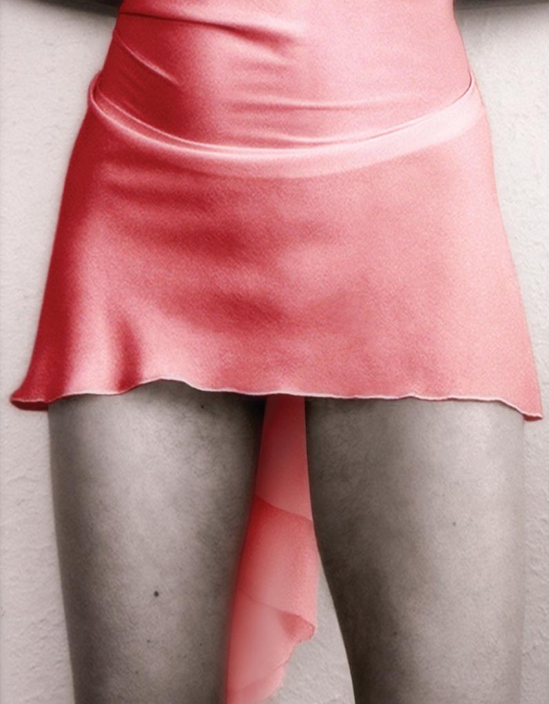 Short red dress#2