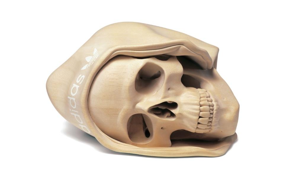 Skull beanie web