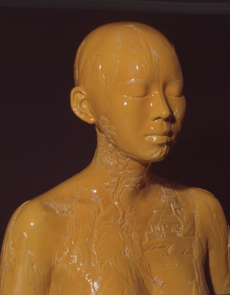 Yellow woman web